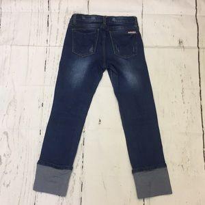 Hudson distressed Capri Jeans. Size 14